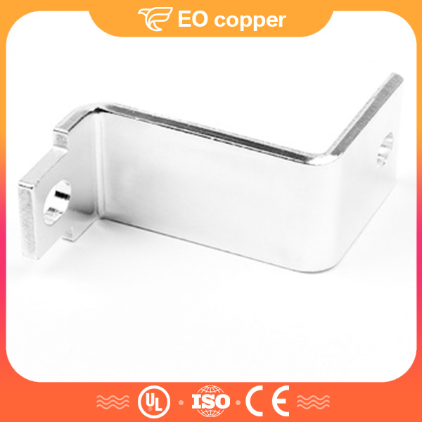 Electric Solid Busbar Connector Tinned Copper Bus Bar