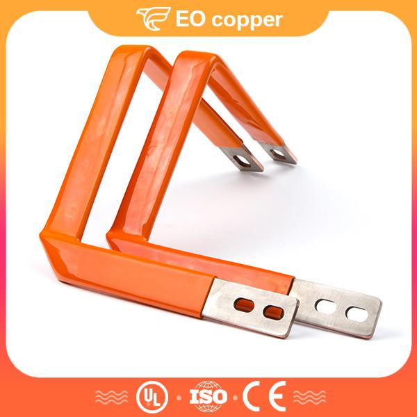Flat Copper Connector Electric Busbar For Power Distribution Box