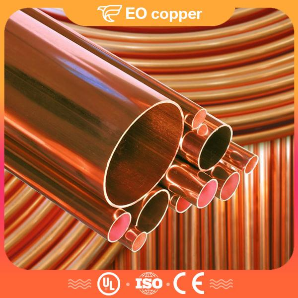 O.D 6-50mm Seamless Copper Pipe