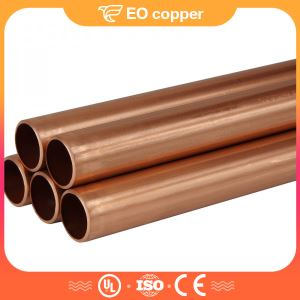 Pancake Coil Seamless Copper Pipe For Refrigerator