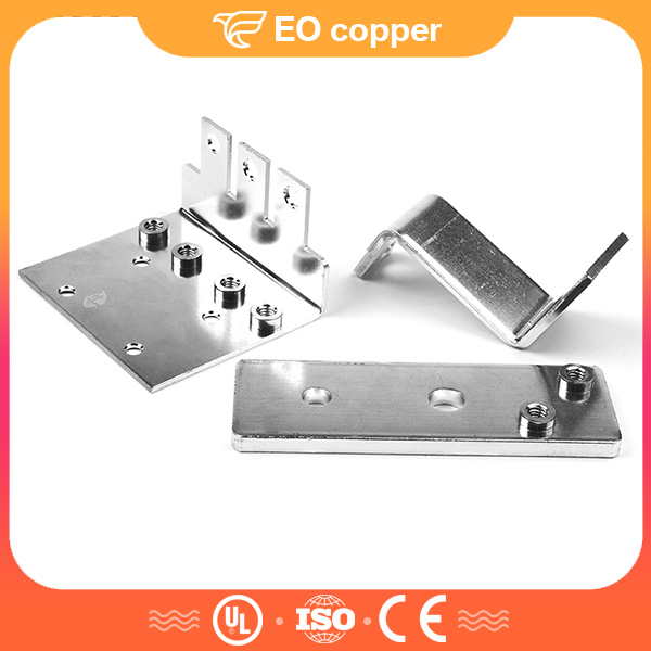 Threaded Machine Battery Tinned Copper Bus Bar